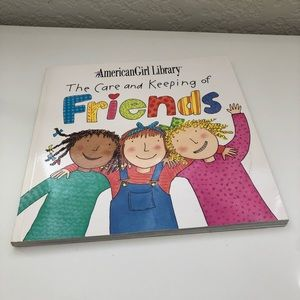 American Girl-The Care and Keeping of Friends Book
